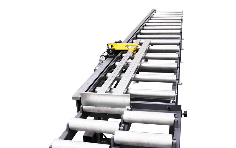 Bomar Type T Saw Roller Conveyor Material Handling System 005