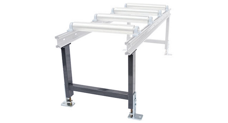 Bomar Type T Saw Roller Conveyor Material Handling System Support Leg