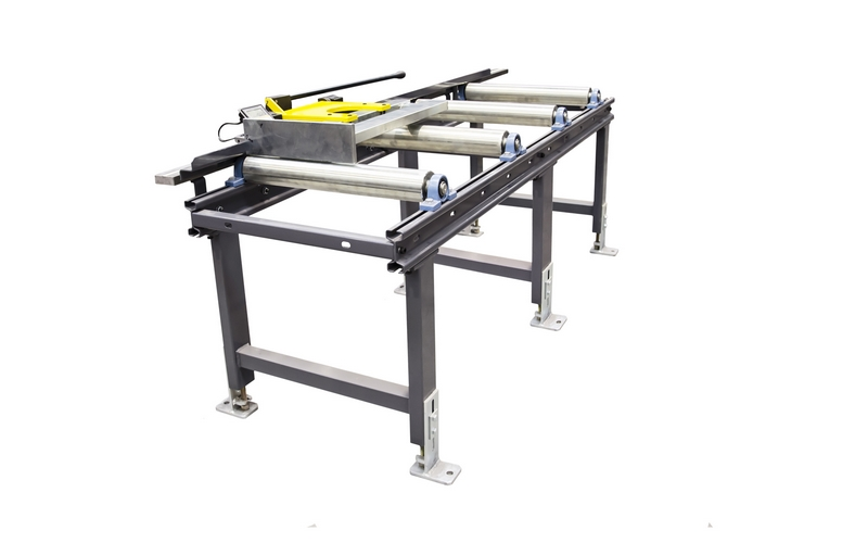 Bomar Type X Saw Roller Conveyor Material Handling System 002