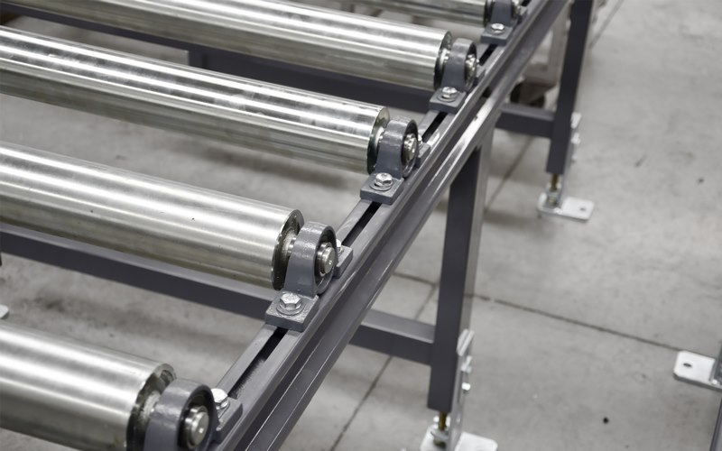Bomar Type Xp Saw Roller Conveyor Material Handling System 003