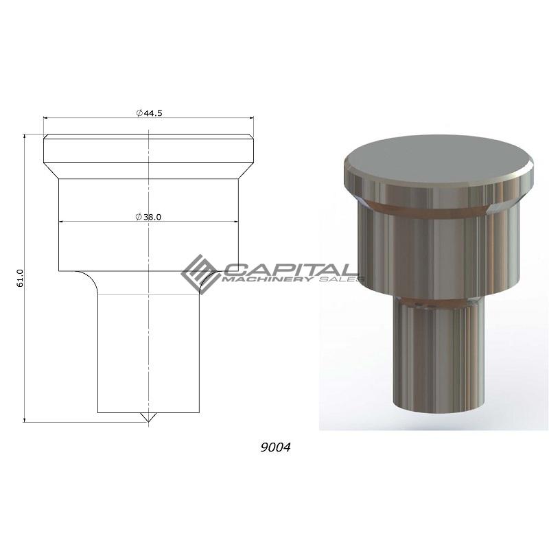 Steel Master 9004 Round Punch