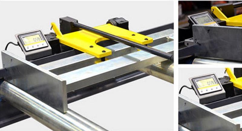 Xra Manual Material Length Stop With Digital Display