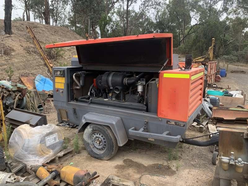 Atlas Copco Compressor Xas175 Compressor With Air Dryer 003