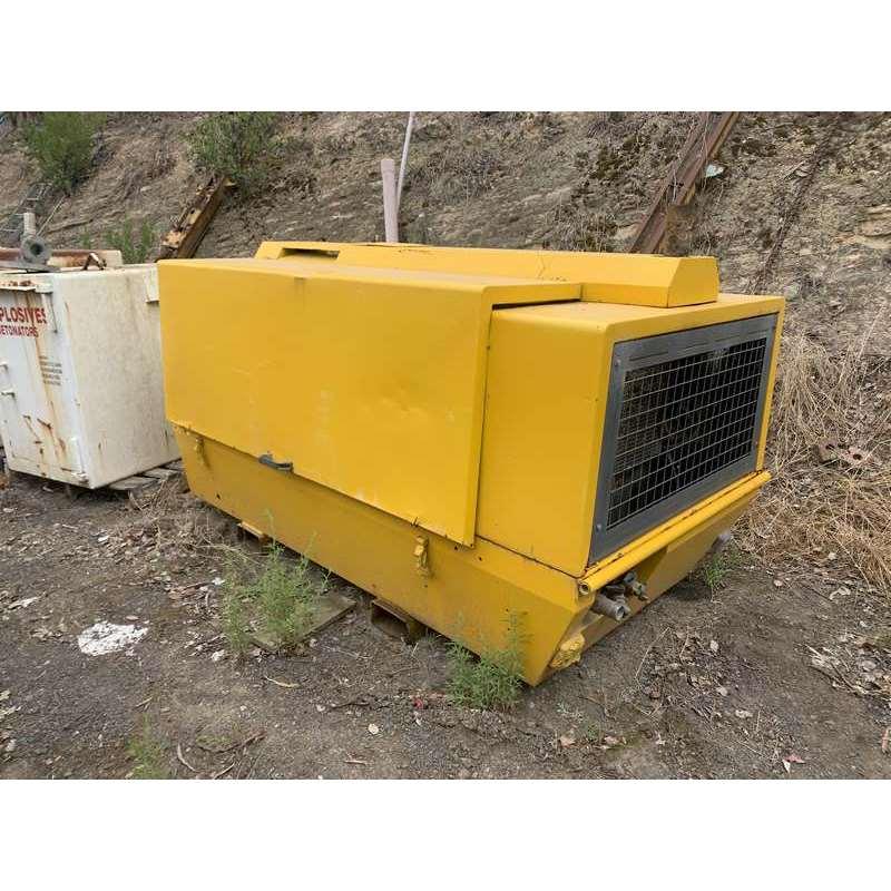 Atlas Copco Compressor Xas175 Compressor With Air Dryer Skid Mount 001