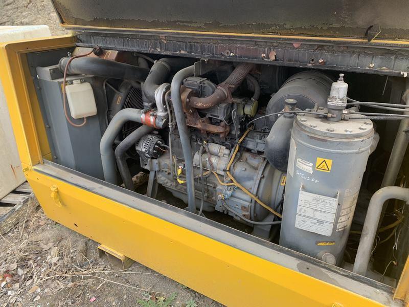 Atlas Copco Compressor Xas175 Compressor With Air Dryer Skid Mount 002