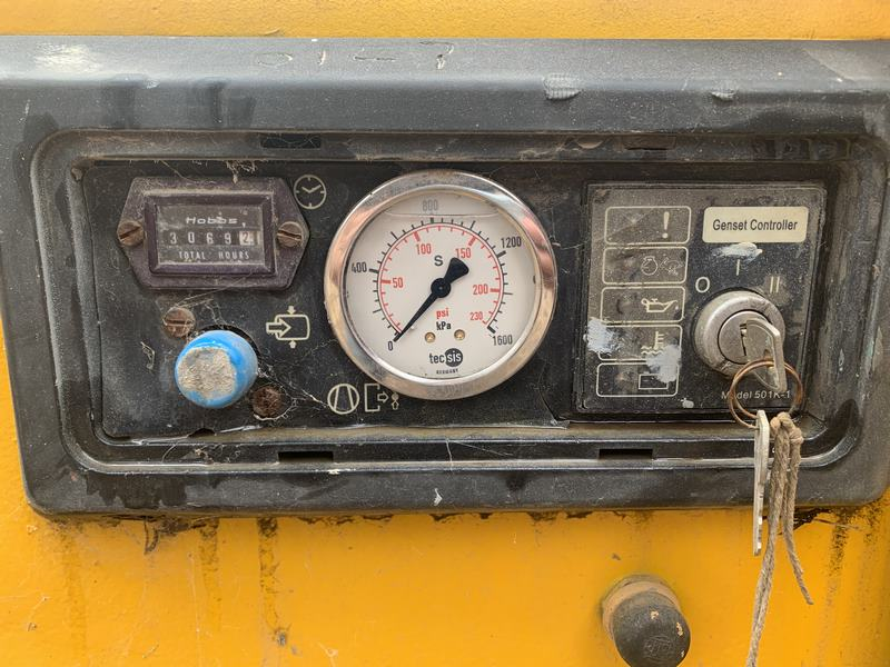 Atlas Copco Compressor Xas175 Compressor With Air Dryer Skid Mount 003
