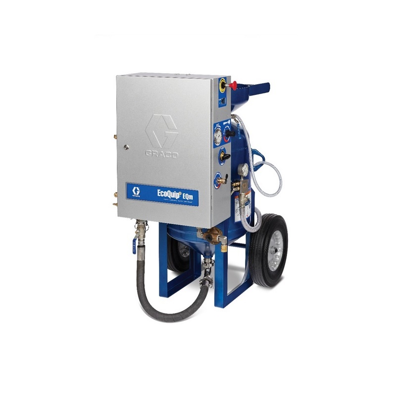 Graco Ecoquip Eqm Portable Abrasive Wet Blasting Equipment