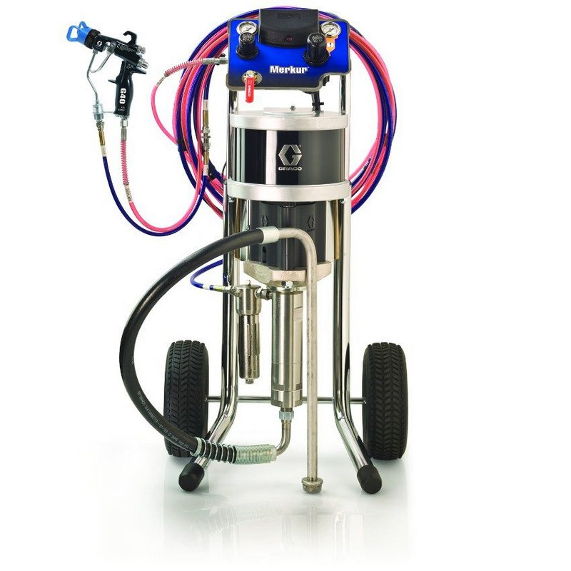 Graco Merkur Air Assist And Airless Packages High Performance Fine Finish Pump Packages 001