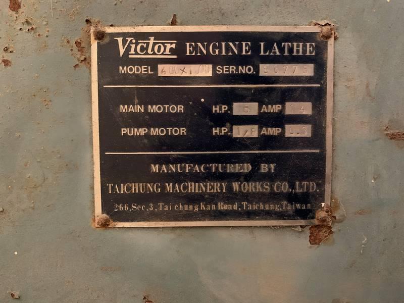 Used Victor Lathe 008
