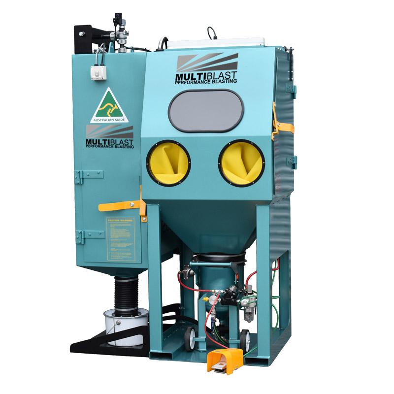 Multiblast Pro800rp Pressure Blast Cabinet Cw Reverse Pulse Dust Collector