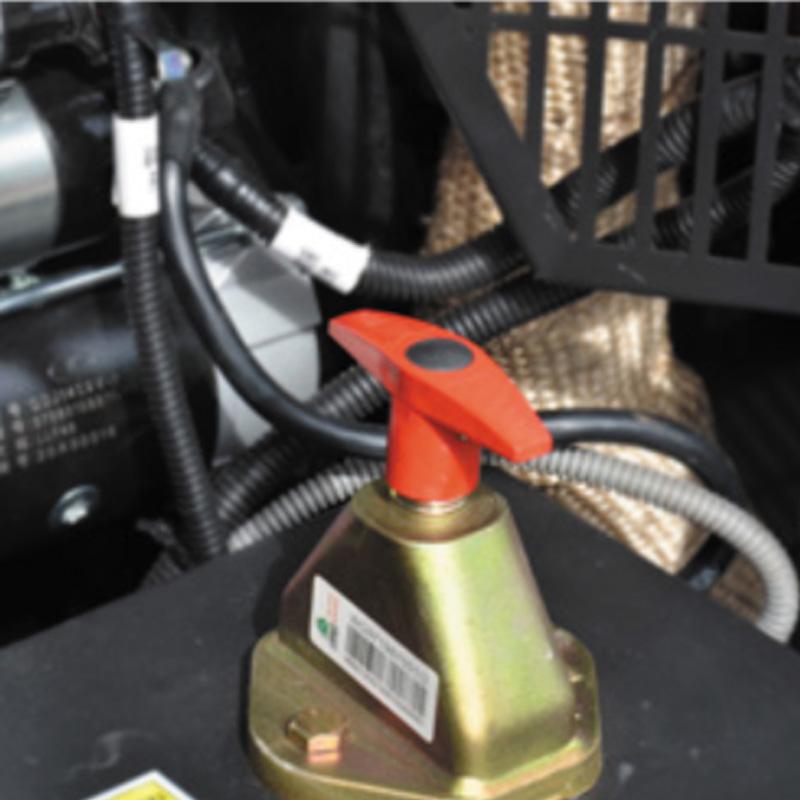 Peerless P185d Diesel Screw Compressor With Trailer Mount 002