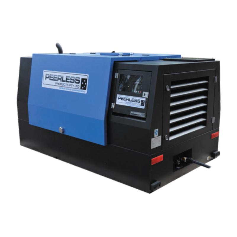 Peerless P185d Diesel Screw Compressor