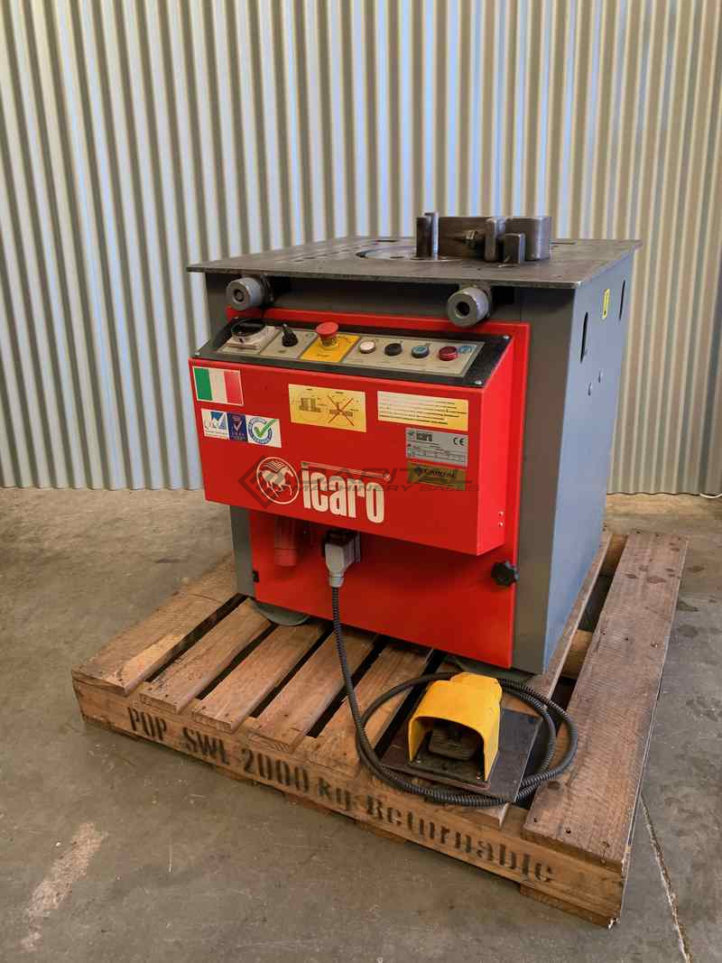 Used Icaro Cp26 32 Combined Production Rebar Cutter Bender Machine 2