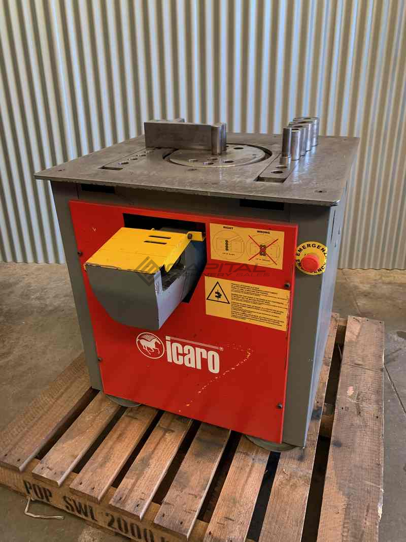Used Icaro Cp26 32 Combined Production Rebar Cutter Bender Machine 3