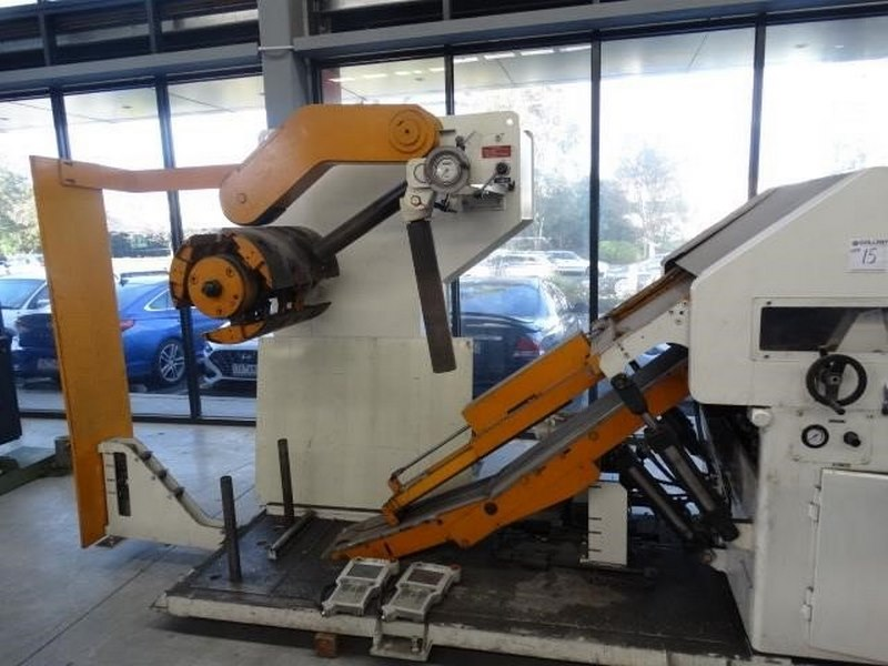 Aida Coil Straightening Machine Model Lfg 600ei Capacity 3000kg Coil Width 70 600mm Coil Thickness 0 5 5mm 1