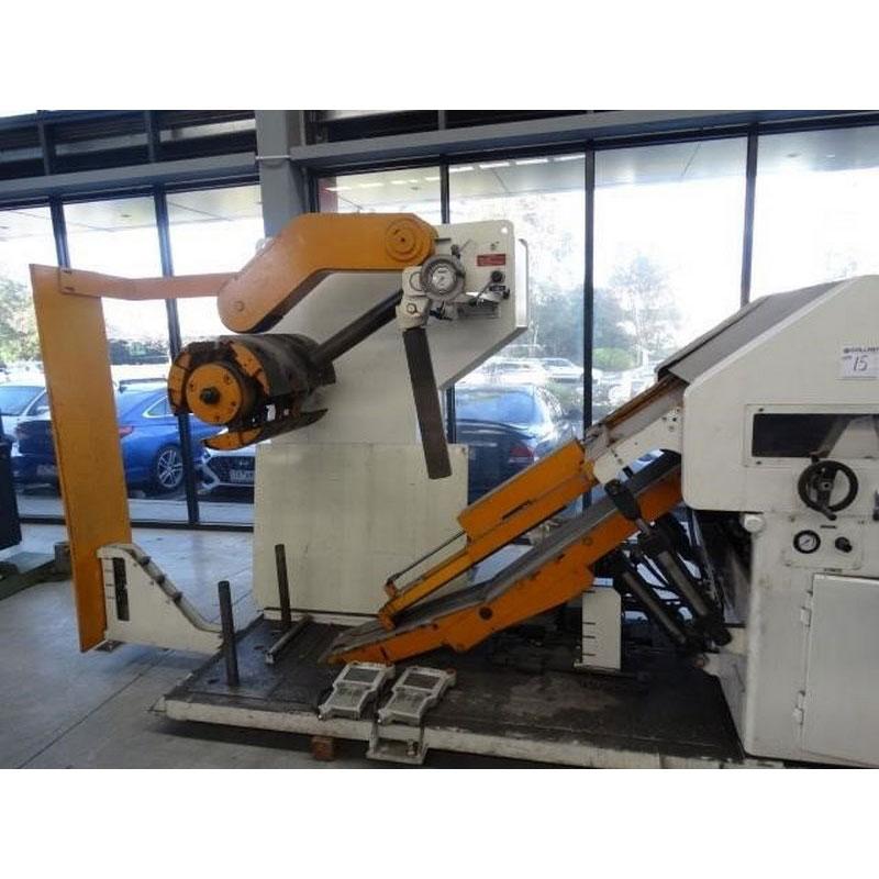 Aida Coil Straightening Machine Model Lfg 600ei Capacity 3000kg Coil Width 70 600mm Coil Thickness 0 5 5mm 1 1 1
