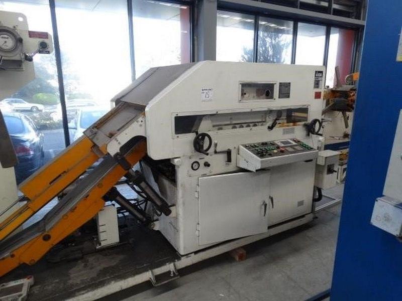 Aida Coil Straightening Machine Model Lfg 600ei Capacity 3000kg Coil Width 70 600mm Coil Thickness 0 5 5mm 2