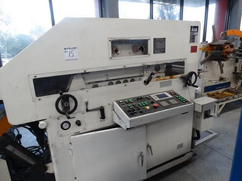 Aida Coil Straightening Machine Model Lfg 600ei Capacity 3000kg Coil Width 70 600mm Coil Thickness 0 5 5mm 3