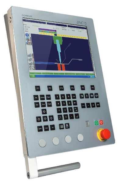 Haco Atpx3015 Cnc Pressbrake 3m X 150t Cybelec Dnc15 2d Graphical Operator Control