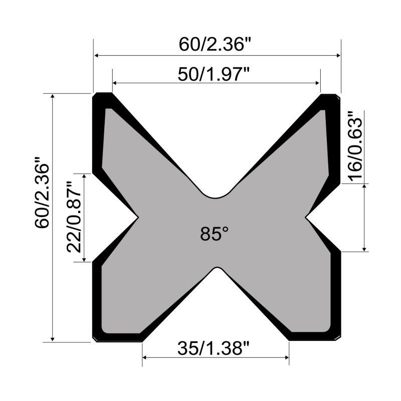 M460 R F Rolleri Multi Vee Die Segmented 002