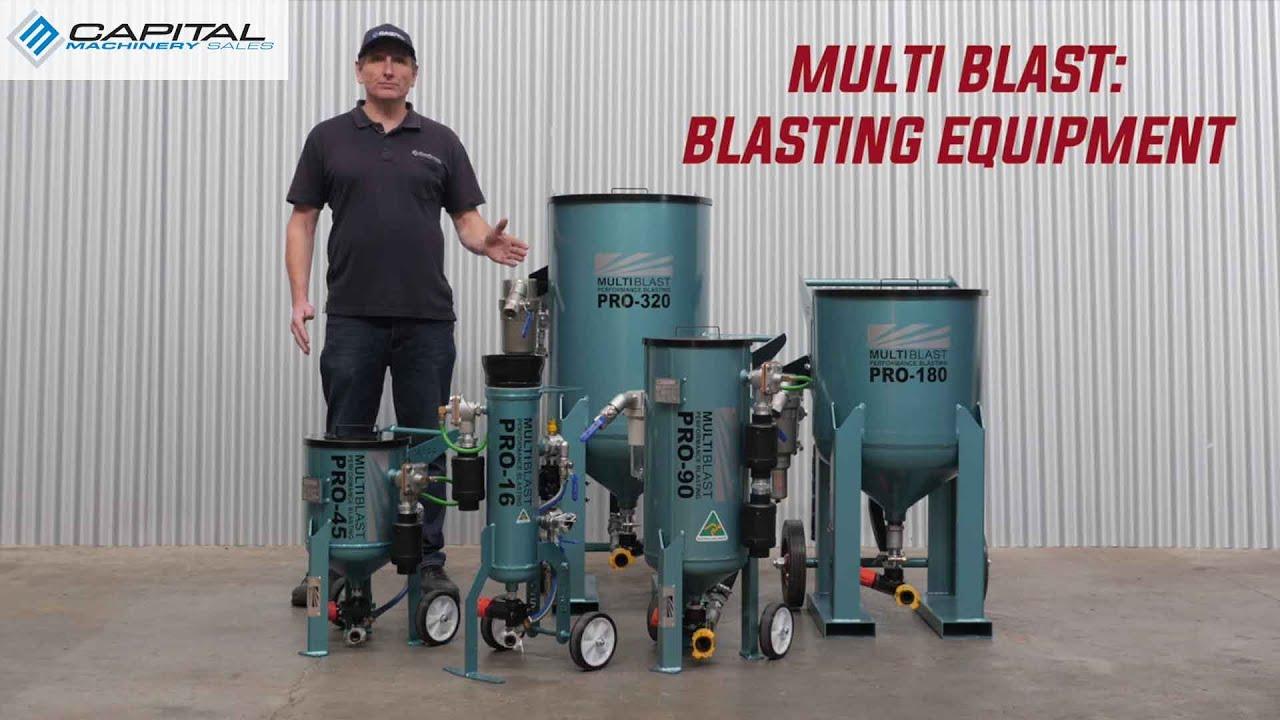 MultiBlast Sand Blasting Pots And Blasting Equipment For Sale In Australian