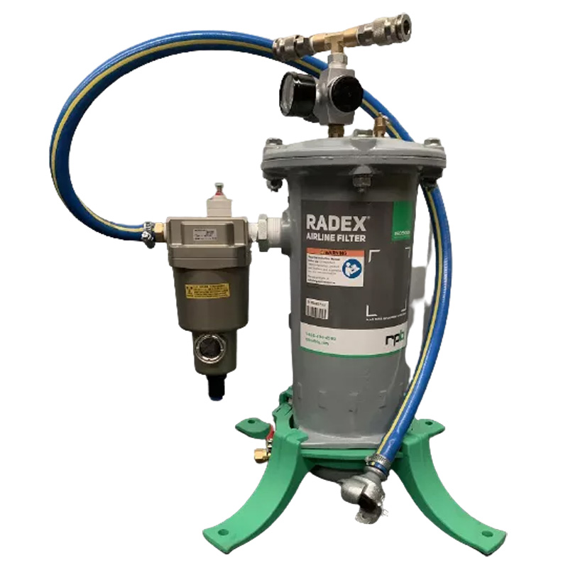 Radex Breathing Air Filter Assembly With Hose