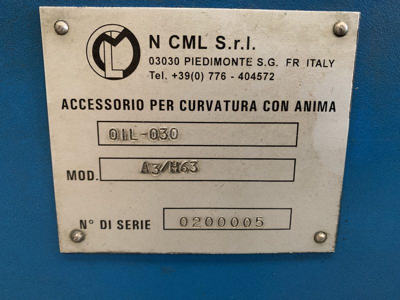 Used Ercolina Top 030 Mandrel Tube Bender 008