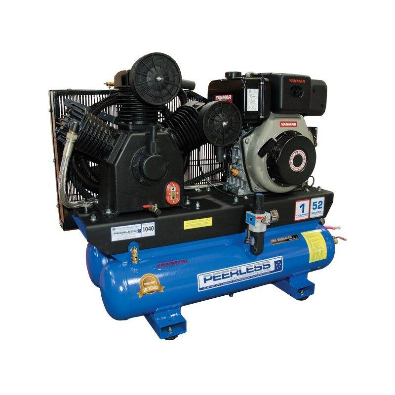 Peerless P55hf High Flow Three Phase Belt Driven Air Compressor 1300lpm 10hp